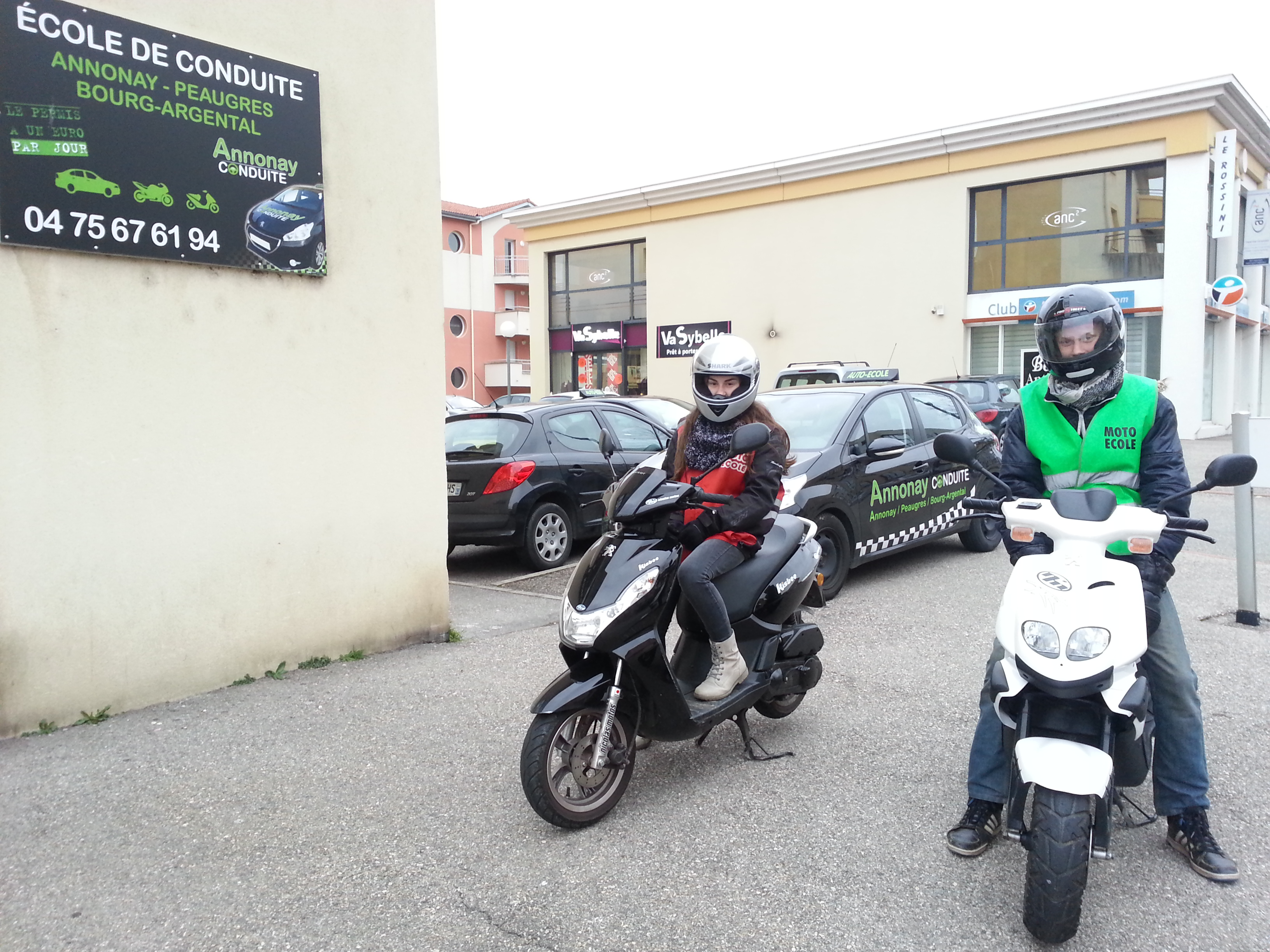 permis scooter annonay